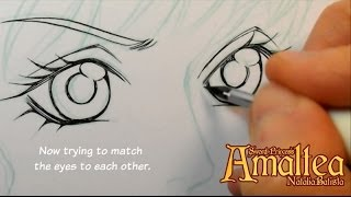 getlinkyoutube.com-Manga Inking Tutorial - Sword Princess Amaltea by Natalia Batista
