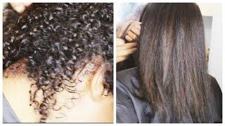 getlinkyoutube.com-Black Natural Hair Secrets: How To Grow, Heat Straighten & Retain Length - African American Hair