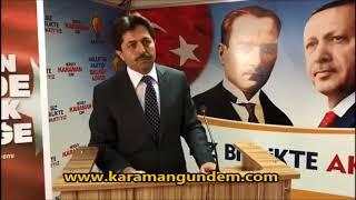 Osman Sağlam, Aday Adaylığı Başvurusunu Yaptı