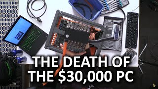 getlinkyoutube.com-THE $30,000 7 GAMERS 1 CPU BUILD IS NO MORE! - Disassembly Stream