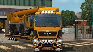 getlinkyoutube.com-ETS2 - MAN TGX 8×4 10×4 and 37 tone cargo