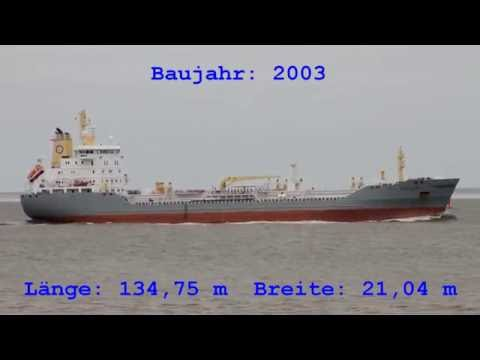 Click to view video EKFORS - IMO 9255878 - Germany - Elbe - Otterndorf