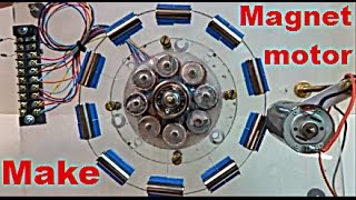 "getlinkyoutube.com-Can You Get ""Energy"" From Magnet Motor ?"