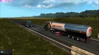getlinkyoutube.com-Ets2 1.17.1 Scania T  sound v8 and smoke exhaust and  directional Rear Axles in dual wheel