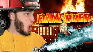 getlinkyoutube.com-RESCUE THE DUMB LADY | Flame Over
