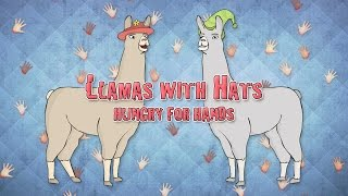 Llamas with Hats: Hungry for Hands Card Game
