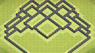 getlinkyoutube.com-*Clash Of Clans* Town Hall 8 Farming Southern Teaser With Air Sweeper