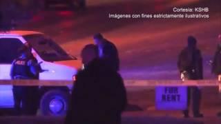 Una balacera en Kansas City, Missouri terminó en un enfrentamiento con la policía