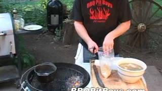 getlinkyoutube.com-Crispy Grilled Chicken Recipe by the BBQ Pit Boys