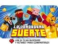 LA VERDADERA SUERTE! | Minecraft Lucky Blocks con Exo, Macundra, Sarinha y Luh