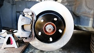 getlinkyoutube.com-How to Change Front and rear Brake Pads and Rotors (Complete Guide)