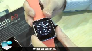 getlinkyoutube.com-Wime Wi-Watch A9 smartwatch (clone Apple Watch)