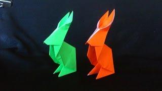 getlinkyoutube.com-Cara Membuat Origami Kelinci Duduk | Origami Binatang