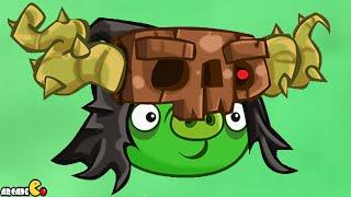 getlinkyoutube.com-Angry Birds Stella - Unlocked Necro Pig Golden Map Walkthrough Part 45