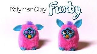 getlinkyoutube.com-Polymer Clay Furby Tutorial - W/ ''poseable'' Expression