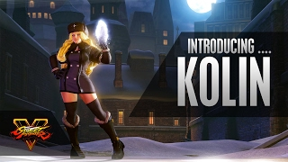 Street Fighter V - Character Introduction Series: Kolin