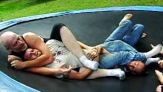 getlinkyoutube.com-wrestling dad brad mikey n steph