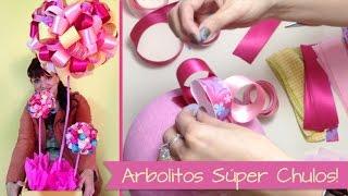 getlinkyoutube.com-Chuladas Creativas :: Arbolitos Decorativos :: Centros de Mesa :: Baby