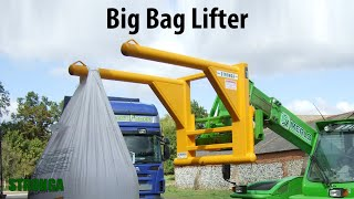 Stronga Big Bag Lifter 2400 attachment - Unlimited efficiency in bag transport