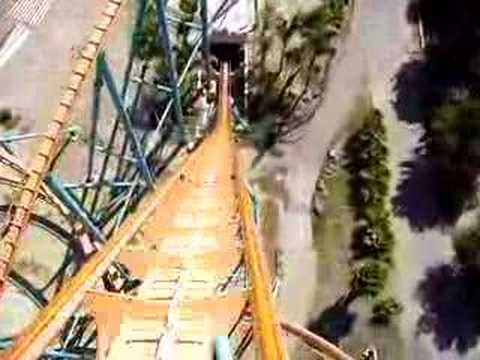 six flags rides california. Six Flags Roller Coaster