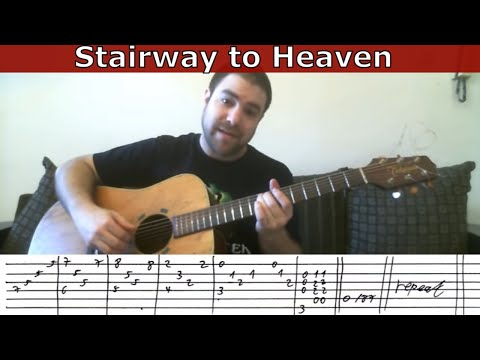 Guitar Tutorial: Stairway to Heaven