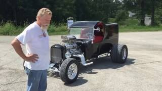 getlinkyoutube.com-Gary's 1923 C-Cab Delivery Turnkey Car
