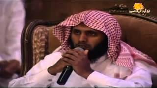 تلاوة اثرت في الحضور  القارئ منصور السالمي )  ديوا