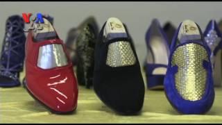 طراحی کفش هایی با طلای ۲۴عبار در ایتالیا