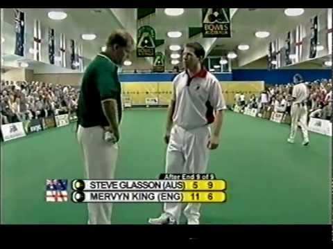 Lawn Bowls: 2003 S Glasson Vs M King Tweed Heads Indoor