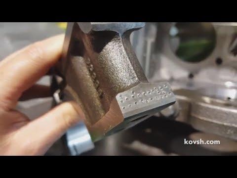 Небрежная работа инструментальщиков по реставрации блока Mercedes Benz OM642