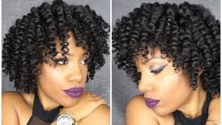 How to: Bantu Knot!!? Flat twistout!!? What is it?