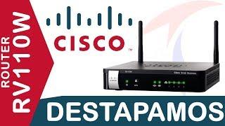 getlinkyoutube.com-Destapando y configuración básica router Cisco RV110W Tecnocompras