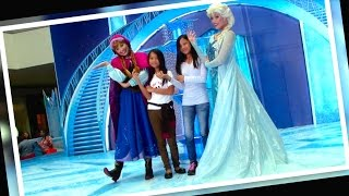 getlinkyoutube.com-DISNEY FROZEN Meet and Greet Anna and Elsa at SM MOA by Toy Kingdom