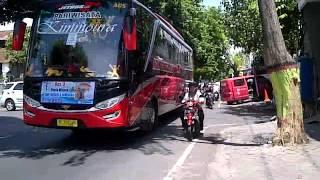 """getlinkyoutube.com-bus agam tungga jaya """"KIMMOURA"""" tertahan kemacetan part 1"""