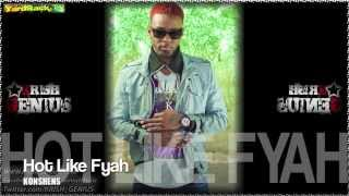 Konshens - Hot Like Fyah