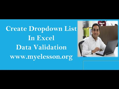 MS Excel Data Validation with Date Feature In Hindi (Create List)