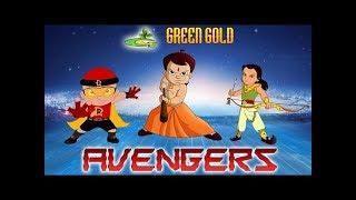 getlinkyoutube.com-Chhota Bheem - Green Gold - Avengers