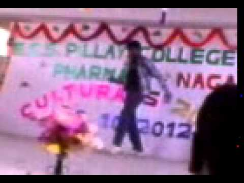 Ayyappan Dancing In his Cultural dance competition - bruceleeayyappan
