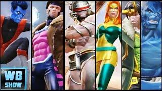 getlinkyoutube.com-All Secret X-Men! Weapon X! Gambit! Characters Review | Marvel: Contest of Champions