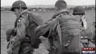getlinkyoutube.com-82nd Airborne Paratroopers Don Mohawks, Apply Facepaint Before D-Day