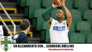 getlinkyoutube.com-Basket Coach: riscaldamento con palla dello Scandone Avellino