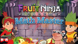 getlinkyoutube.com-Fruit Ninja Academy: Math Master (By Halfbrick Studios) - iOS / Android - Preview Gameplay
