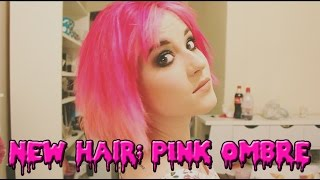 Dying My Hair Pink Ombre.