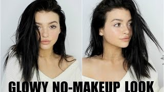 getlinkyoutube.com-GLOWY NO-MAKEUP LOOK! | 2017 everyday makeup tutorial