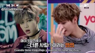 [Sub Español] GOT7 The Show Bingo Talk 161011 width=