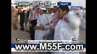 مسيرة منقية عبدالله بن دلمخ ال محمد السبيعي في مزاين الكويت 2015