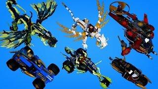 getlinkyoutube.com-고스트 닌자고  하반기 레고 닌자고 전제품 빠른 조립 동영상 Ninjago 2015 All Summer sets