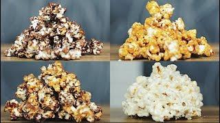 초콜릿 카라멜 마시멜로 팝콘 도전 🍿 / 무비 팝콘 🍿 / Chocolate Caramel Marshmallow Movie Popcorn / 씨즐 Sizzle