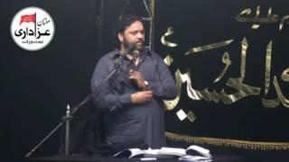 getlinkyoutube.com-Zakir Shokat Raza Shokat  : Majlis : 3 Rabi Ul Awal 1438/2016 : Ali Laaj Multan