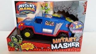 getlinkyoutube.com-MUTANT MASHER - Mutant Mania Wrestlers Unboxing Review